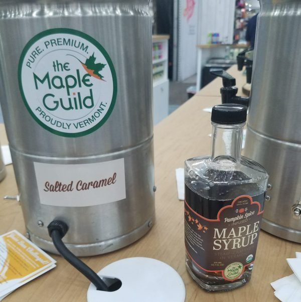 The Maple Guild Pumpkin Spice Maple Syrup at Natural Products Expo East 2017 - Theresa's Reviews #ExpoEast #ExpoEast2017