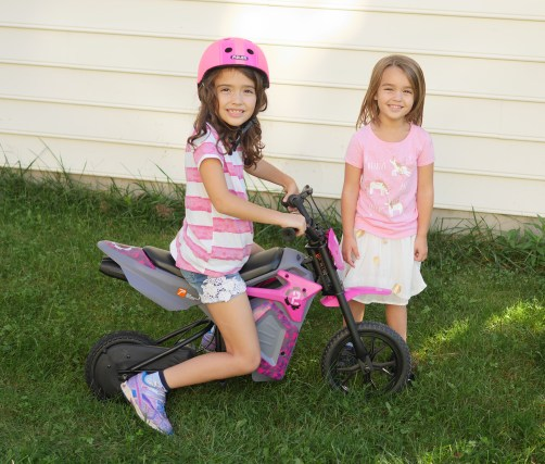 The Pulse Performance Electric Motorcycle is a fun and exciting Christmas gift idea! - Theresa's Reviews 2017 Christmas Gift Guide For Children