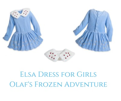 Theresa's Reviews - Elsa Dress for Girls - Olaf's Frozen Adventure