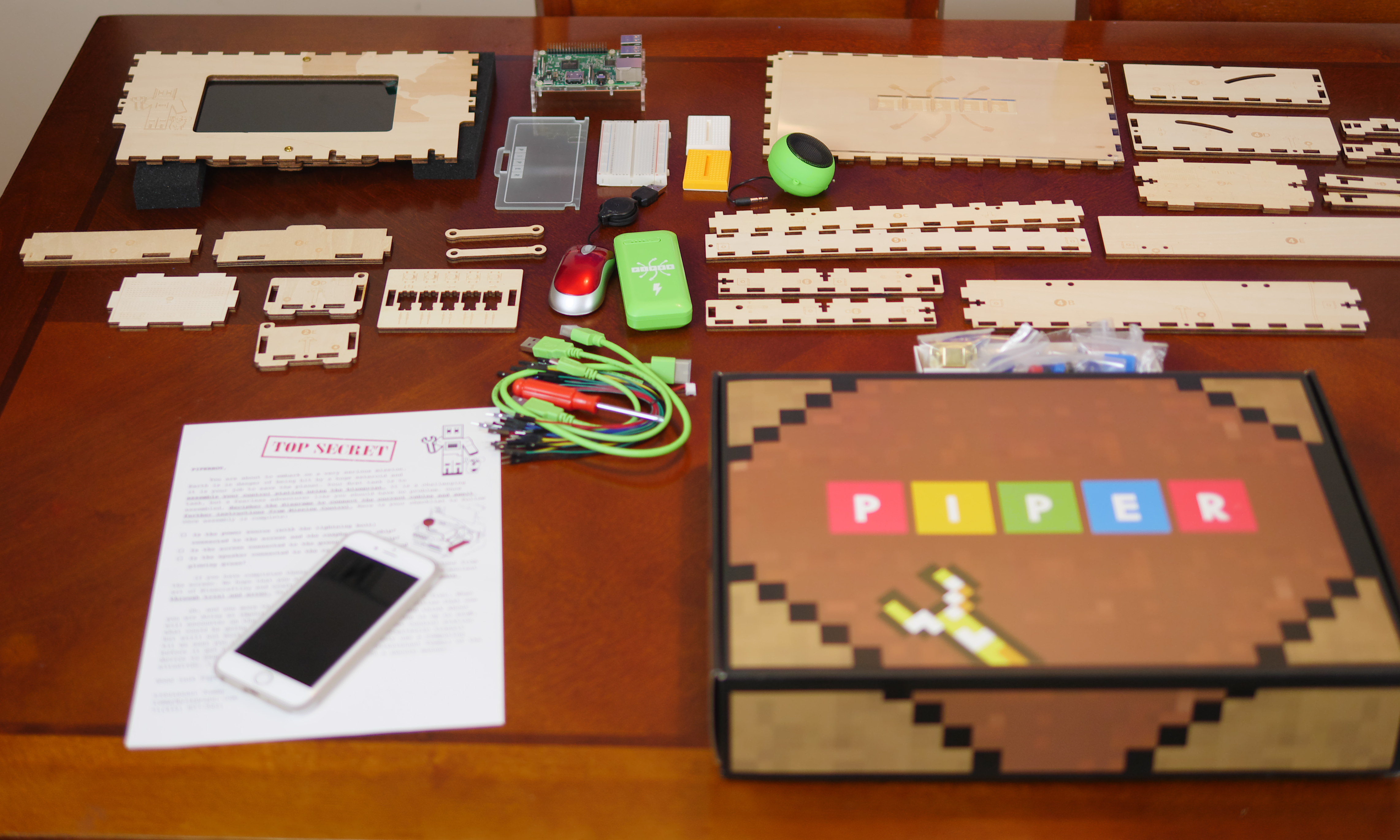Children Build The Piper Computer By Putting Each Individual Piece