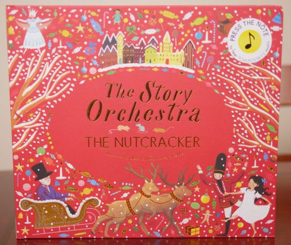 The Nutcracker plays classical music on each page of the book. - Theresa's Reviews 2017 Christmas Gift Guide For Children
