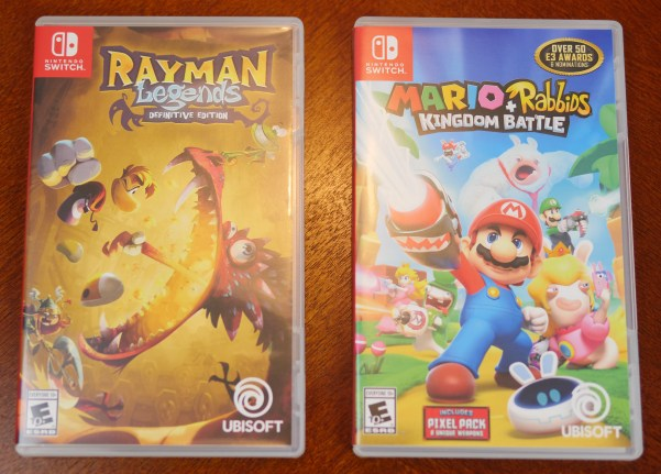 Theresa's Reviews 2017 Christmas Gift Guide For Men - Some of the latest releases for the Nintendo Switch include Rayman Legends Definitive Edition and Mario + Rabbids Kingdom Battle.