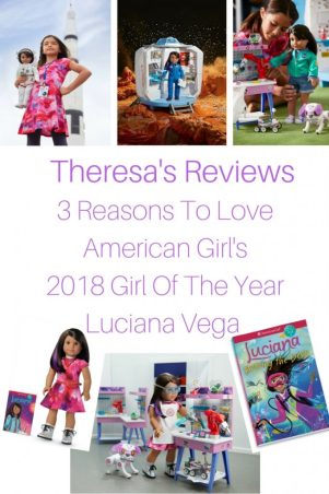 Theresa's Reviews - 3 Reasons To Love American Girl's 2018 Girl Of The Year Luciana Vega