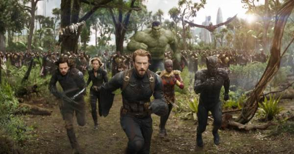 Avengers Infinity War - 2018 Disney Movie Releases #InfinityWar