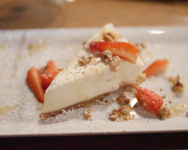 Theresa's Reviews covers Howard County Restaurant Weeks with Goat cheese Cake #HocoRestaurantWeeks