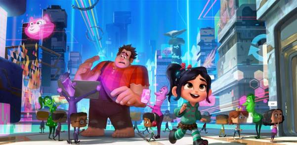 RALPH BREAKS THE INTERNET WRECK-IT RALPH 2 - Disney 2018 Movie Releases #WreckitRalph2