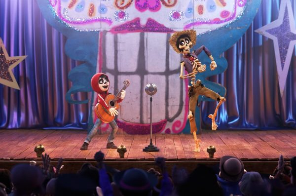 In the bonus feature 'The Music of Coco,' you learn more about the song 'Un Poco Loco.'