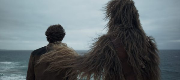 Alden Ehrenreich is Han Solo and Joonas Suotamo is Chewbacca in SOLO: A STAR WARS STORY. 'Solo: A Star Wars Story' still photo #SoloAStarWarsStory