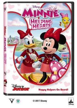Minnie: Helping Hearts DVD Giveaway on Theresa's Reviews