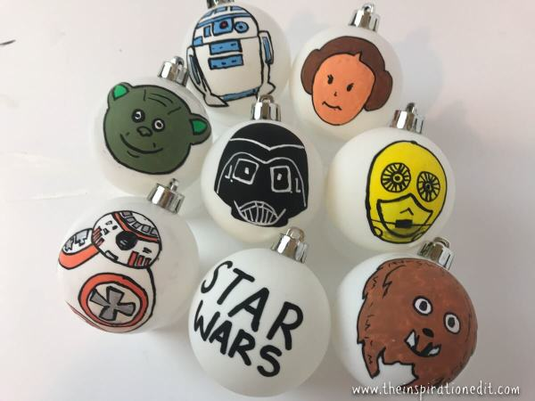 Star Wars BaubleCraft Theresa's Reviews - 2018 Oscar Party Kids Craft And Recipe Ideas