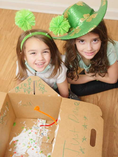 St. Patrick's Day Celebration - DIY Leprechaun Trap For Children - Theresa's Reviews