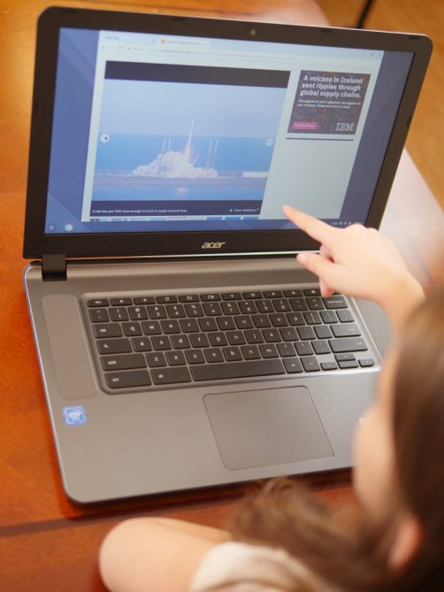 Getting Ahead of Summer Brain Drain With Technology - Acer Chromebook 15 CB3-532-C8DF - Theresa's Reviews