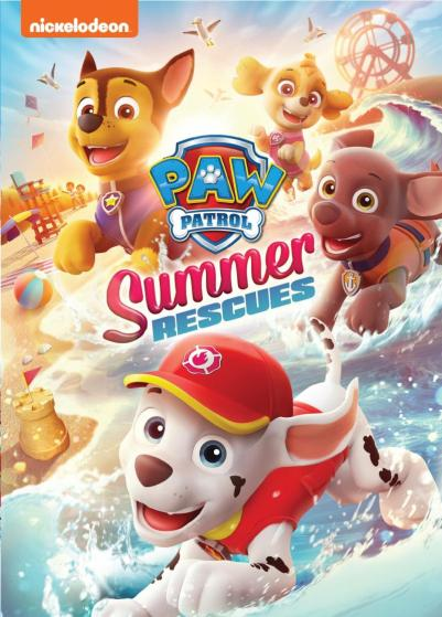 Paw Patrol: Summer Rescues DVD