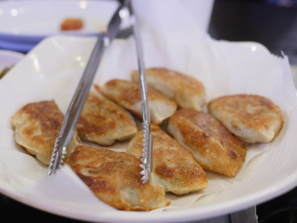 Honey Pig BBQ Restaurant Pan Fried Dumplings on Korean Way - Theresa's Reviews