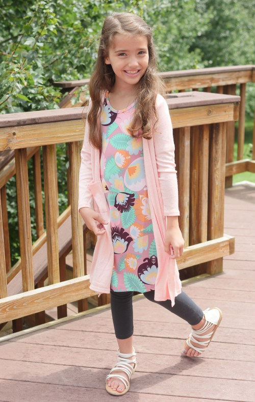 LuLaRoe Back To School Kids Collection - LuLaRoe Sariah Cardigan - Theresa's Reviews