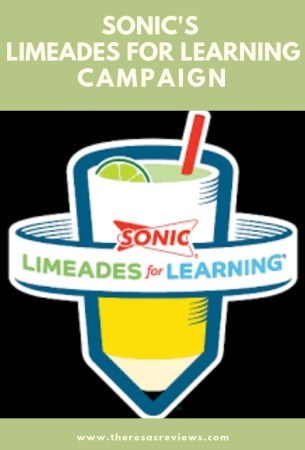 SONIC's 10th Anniversary of Limeades for Learning &a Giveaway - Theresa's Reviews