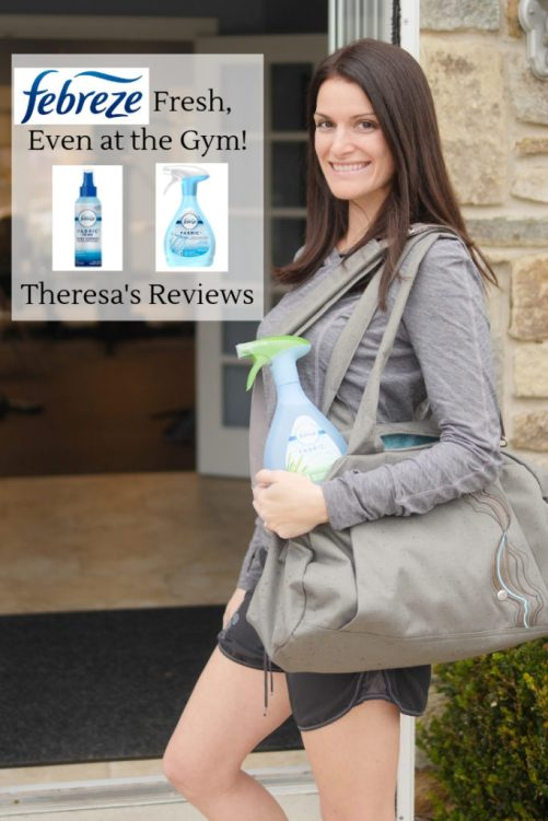 #ad Today on Theresa's Reviews, check out three ways to fit a workout into your daily routine featuring @Febreze! #FebrezeYourGear #FebrezeFreshForce