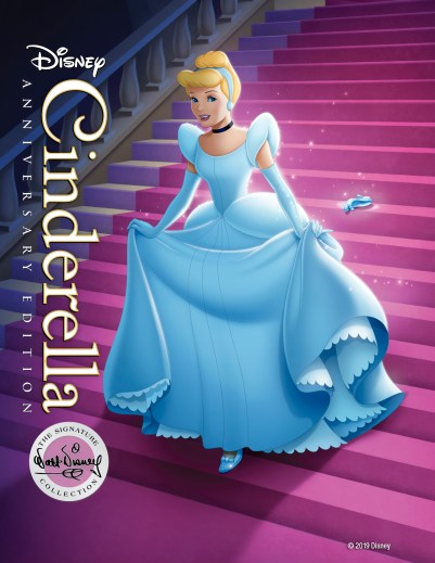 """Cinderella: Anniversary Edition"", the newest release in the Walt Disney Signature Collection On Digital and Movies Anywhere June 18 and on Blu-ray™ June 25"