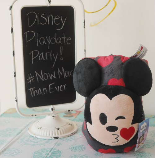 Our Casual Summertime Disney Playdate Party - Mickey Mouse Pillow Pet - Theresa's Reviews #NowMoreThanEver