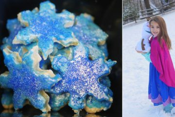 Frozen 2 Let It Snow Cookies - Theresa's Reviews