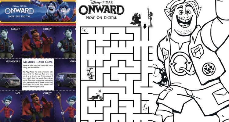 ONWARD Arrives Early On Digital & Disney+ AND Free Activity Pages! - Theresa's Reviews