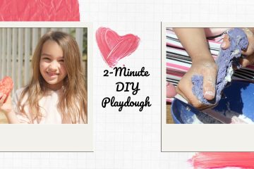 How to Make 2-Minute DIY Playdough