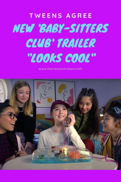 "Tweens Agree, New 'Baby-Sitters Club' Trailer ""Looks Cool"""