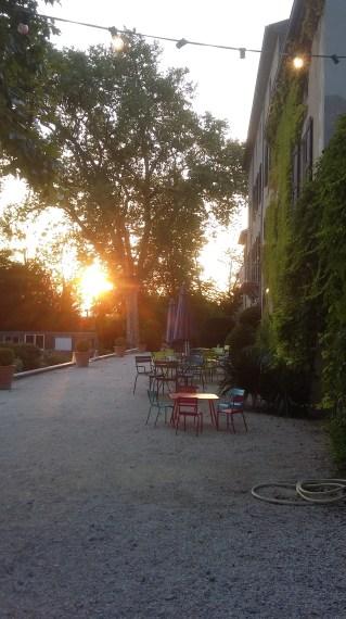 Domain de Blacons- Sunset