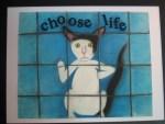 Pet Rescue Art, Cat Rescue Art, Cat painting, Cat art, cat mom gift.