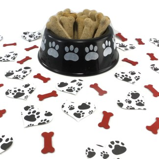 Paw Print Table Confetti, MIsfit Manor Shop