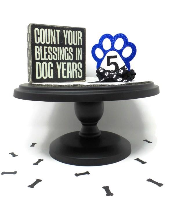 Blue Dog Birthday Crown, Misfit Manor Shop, Nancy Halverson, The Rescue Mama, Dog Party Favors