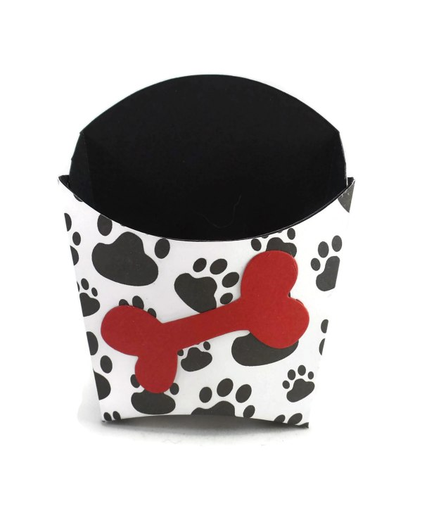 Puppy Birthday Bone Boxes, Misfit Manor Shop