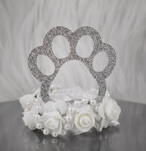 Dog Wedding Attire, Dog Crown, Misfit Manor Shop