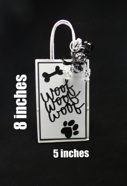 Dog Party Favor Bag, Dog Birthday Party Favors, Misfit Manor Shop