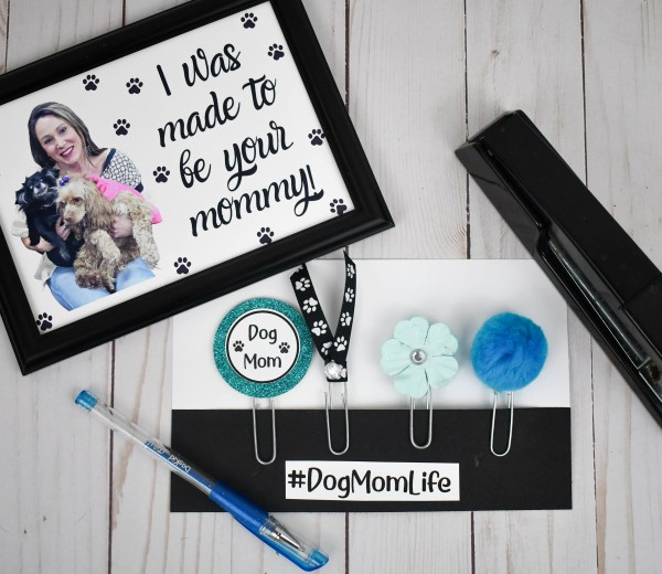 Blue Dog Mom Planner Accessories, The Misfit Manor Shop