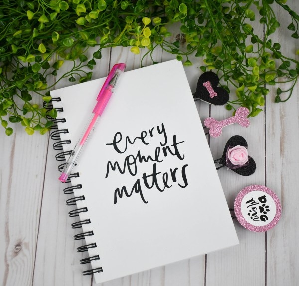 Pink Dog Mom Planner Accessories, The Misfit Manor Shop
