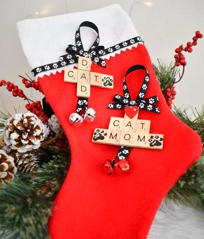 Cat Lover Ornament Set