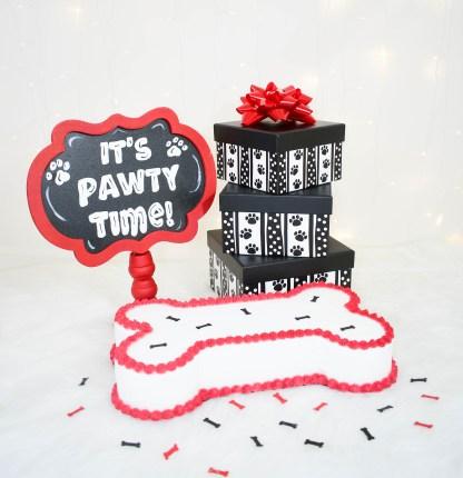 Dog Party Decorations - Misfit Manor Shop