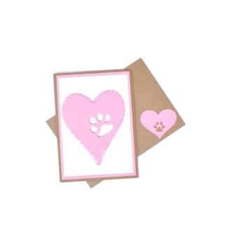 Dog or Cat Memorial Card