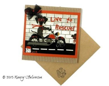 Dog Rescue and Adoption Card
