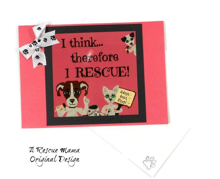 Pet Rescue, Dog Rescue, Cat Rescue, Dog Rescue Card, Dog Adoption Card, Cat Rescue Card, Cat Adoption Card