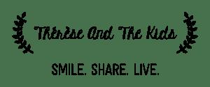 logo thereseandthekids blog