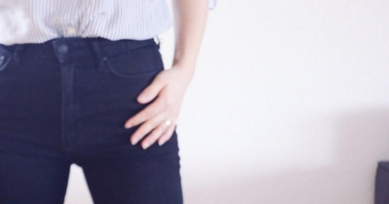 Comment porter le jean taille haute?