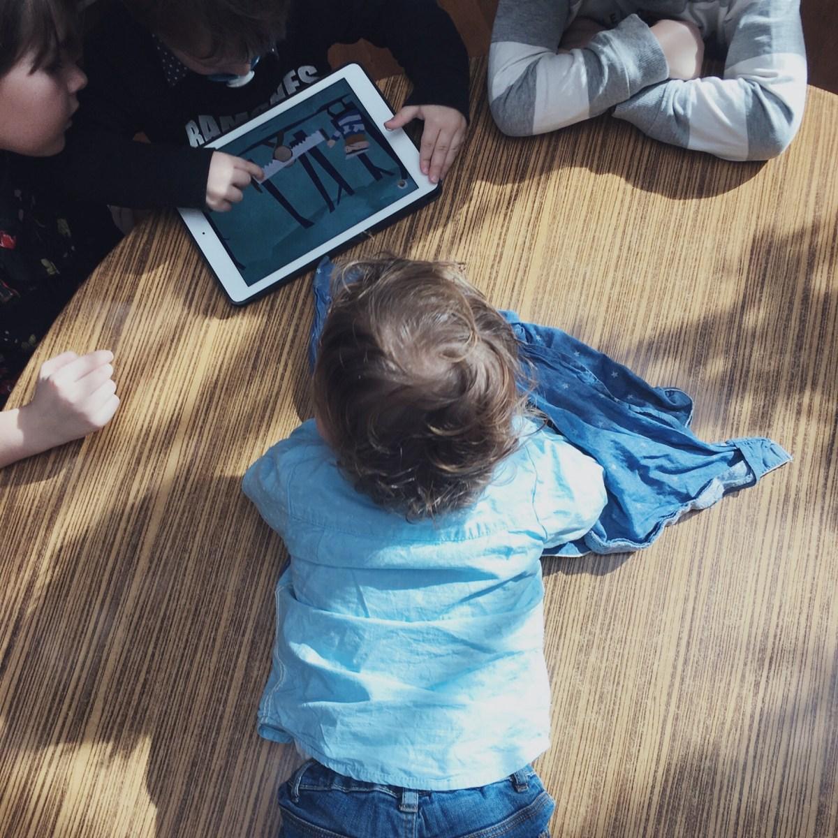 Ma sélection de jeux sur Ipad pour les enfants