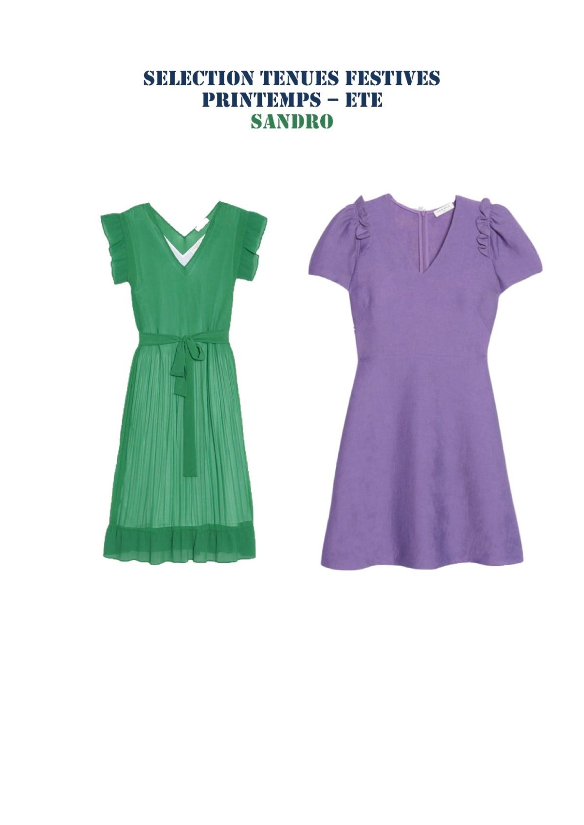 robe mariage esprit blog suisse maman thereseandthekids sandro