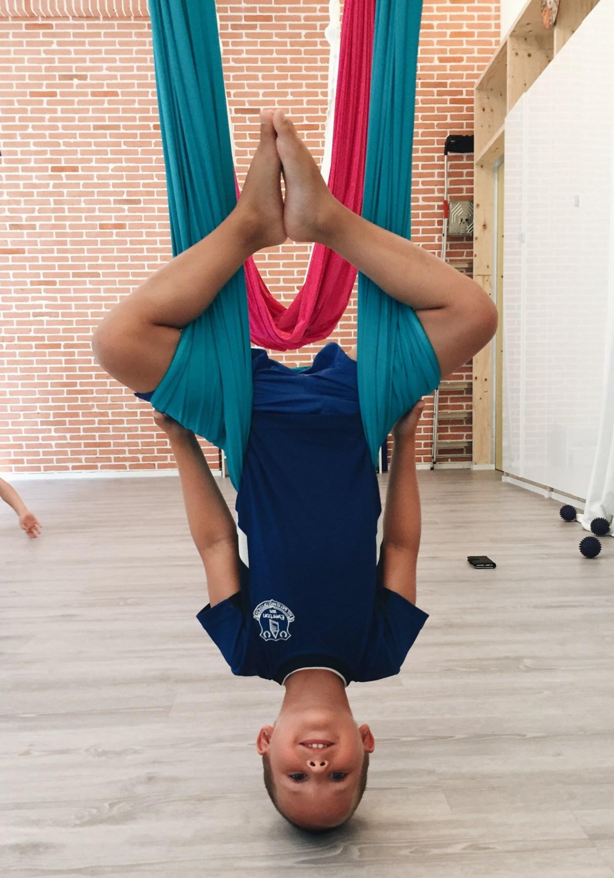 yoga aerien suisse blog maman lifestyle sport famille thereseandthekids
