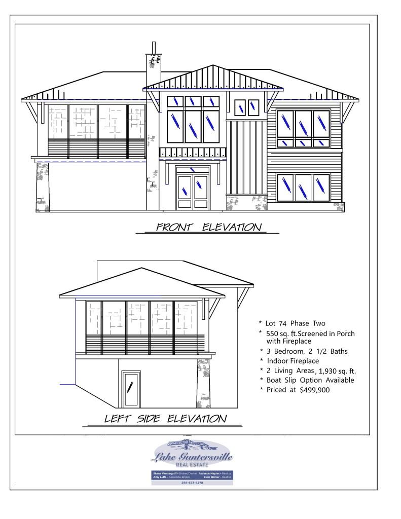 THE RESERVE Lot 74 Spec elevation 01282021
