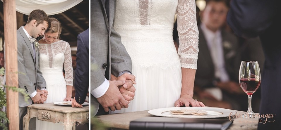 wedding ceremony communion
