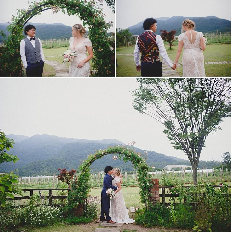 wedding photos in Japan