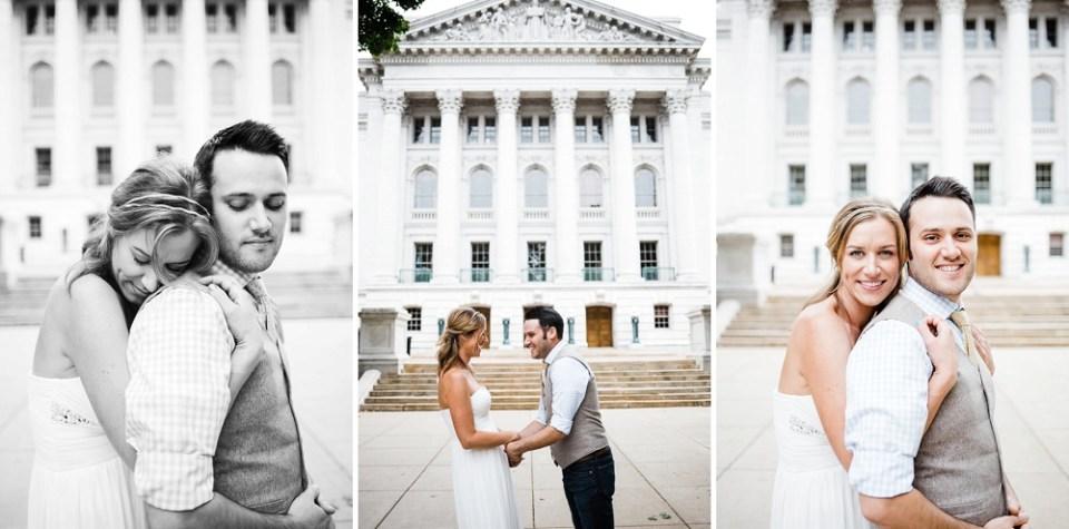 intimate Madison Wisconsin wedding